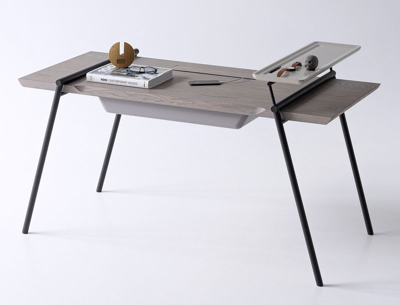 Open-Concept Storage Desks