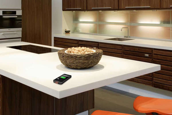 Wirelessly Charging Countertops