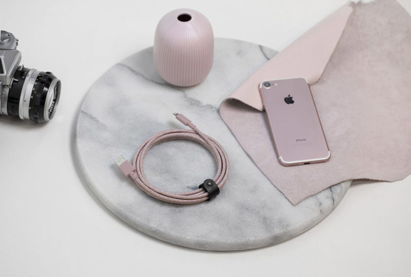 Rose-Colored Lightning Cables