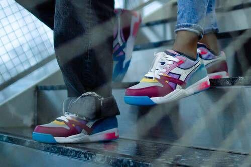 Student-Designed Bright Footwear