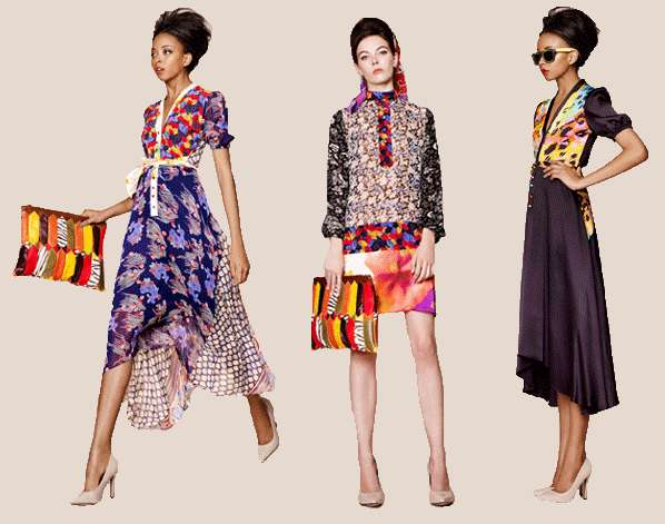 Eccentrically Patterned Fashions