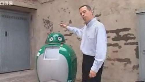 Garbage-Collecting Robots