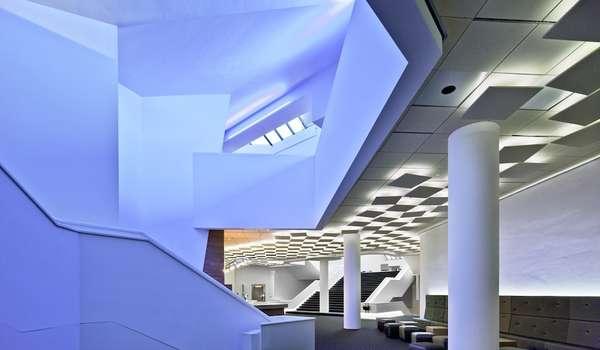 Futuristic Music Halls