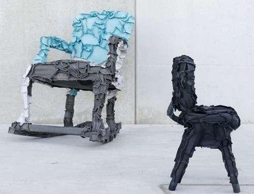 Skin-Stretched Furniture