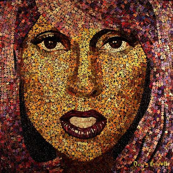 Puzzled Pop Star Mosaics
