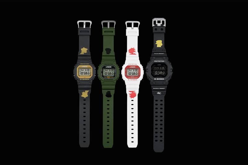 Celebratory Graphic Digital Watches