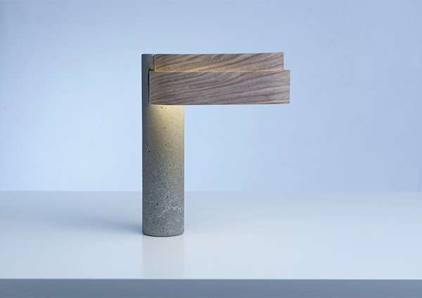 Wooden Concrete Lighting
