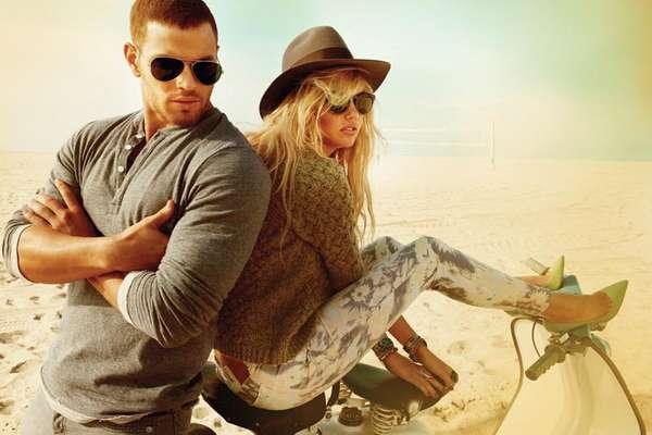 Golden Beach Fashion Ads