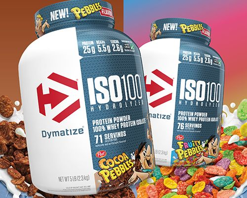 Cereal-Flavored Protein Powders