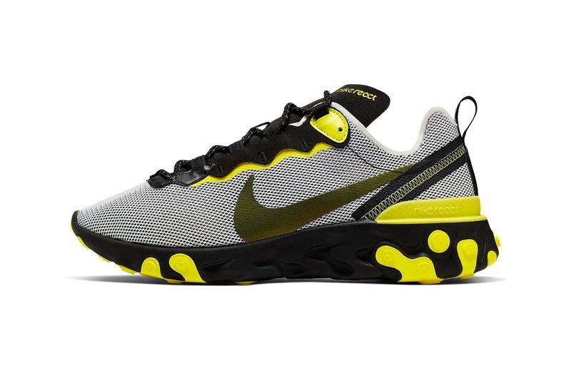 Bold Yellow Mesh Sneakers