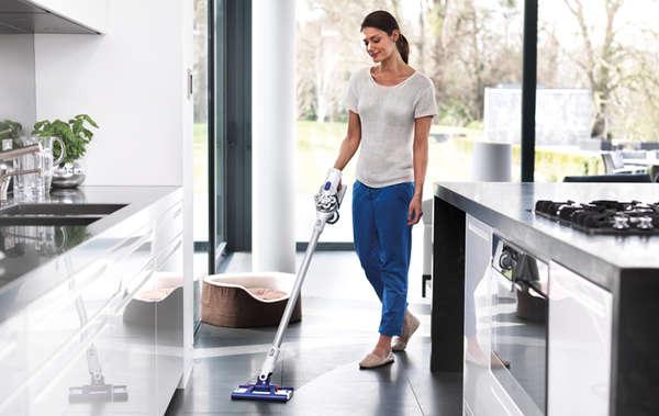 Vacuum-Powered Mops