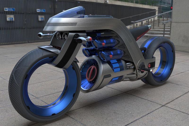 Designer Tech Brand Motorcycles