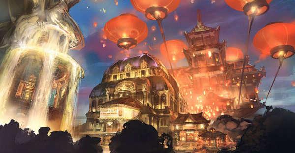 Dystopia Game Concept Art