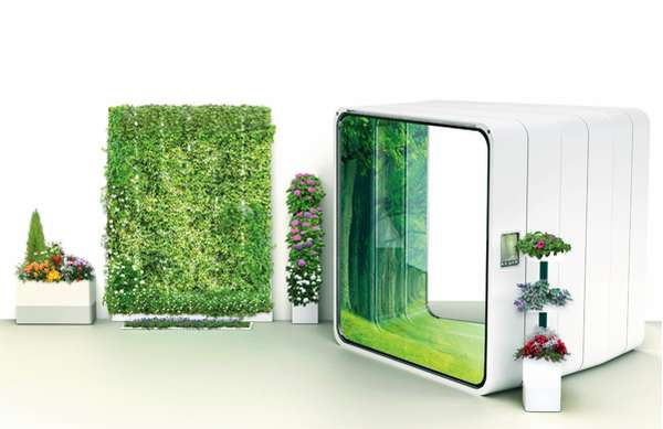 Garden Stand Designs : Interior greenery technology e home