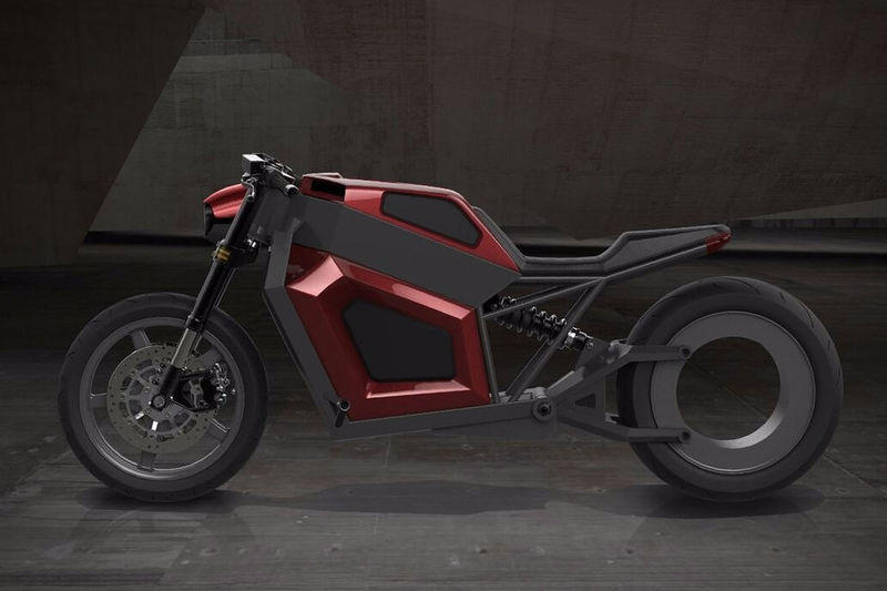 Hubless Electric Motorcycles