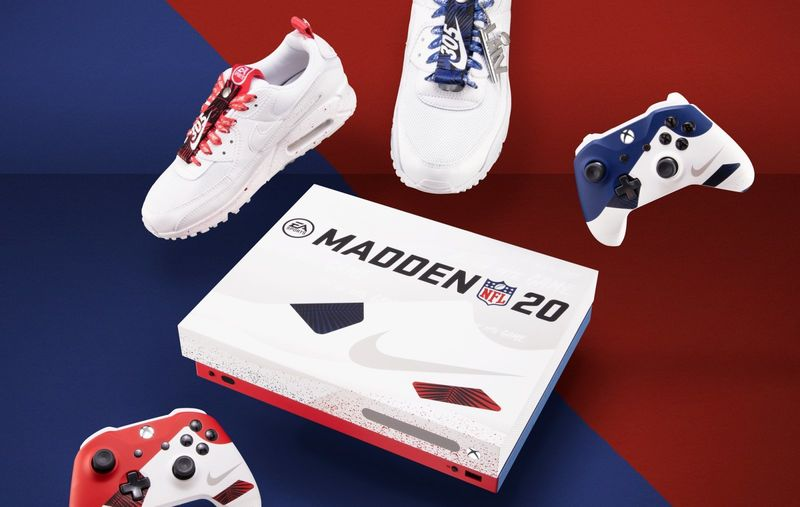 Football Game-Themed Consoles