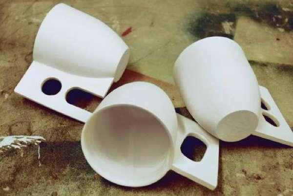 Uncommonly Handled Mugs