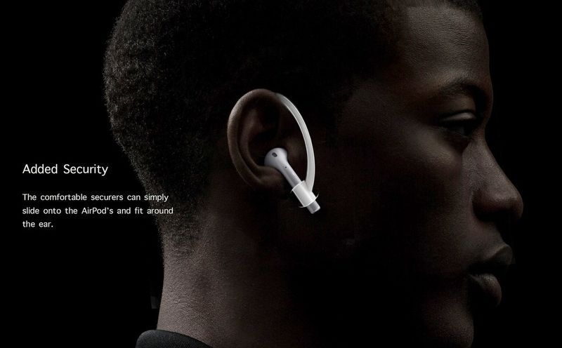 Ergonomic Earpiece Clips