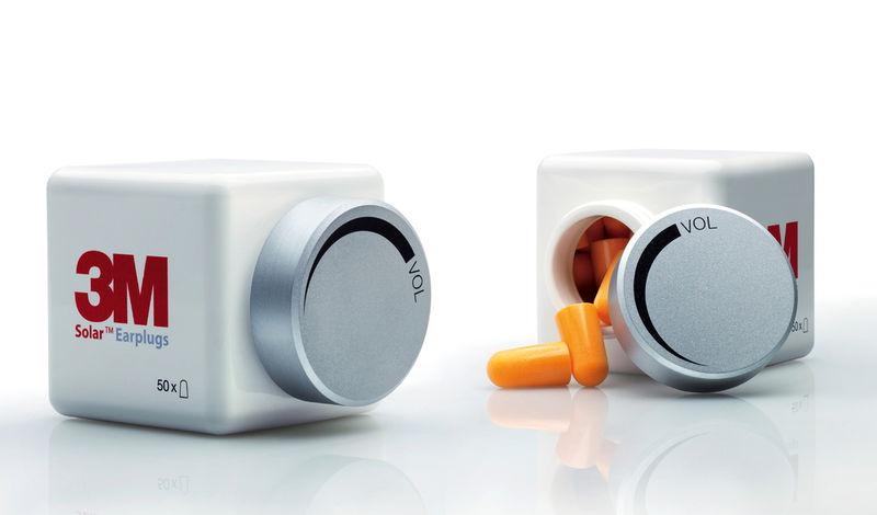 Medicinal Earplug Packaging