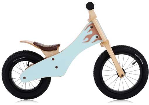 Wooden Toddler Two-Wheelers
