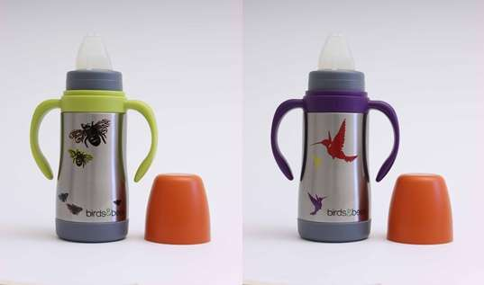 Nature-Themed Baby Bottles