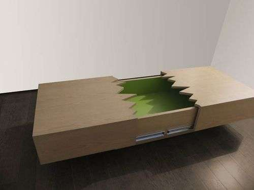 Earthquake Coffee Tables