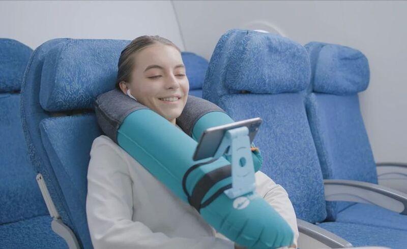Phone-Friendly Travel Pillows