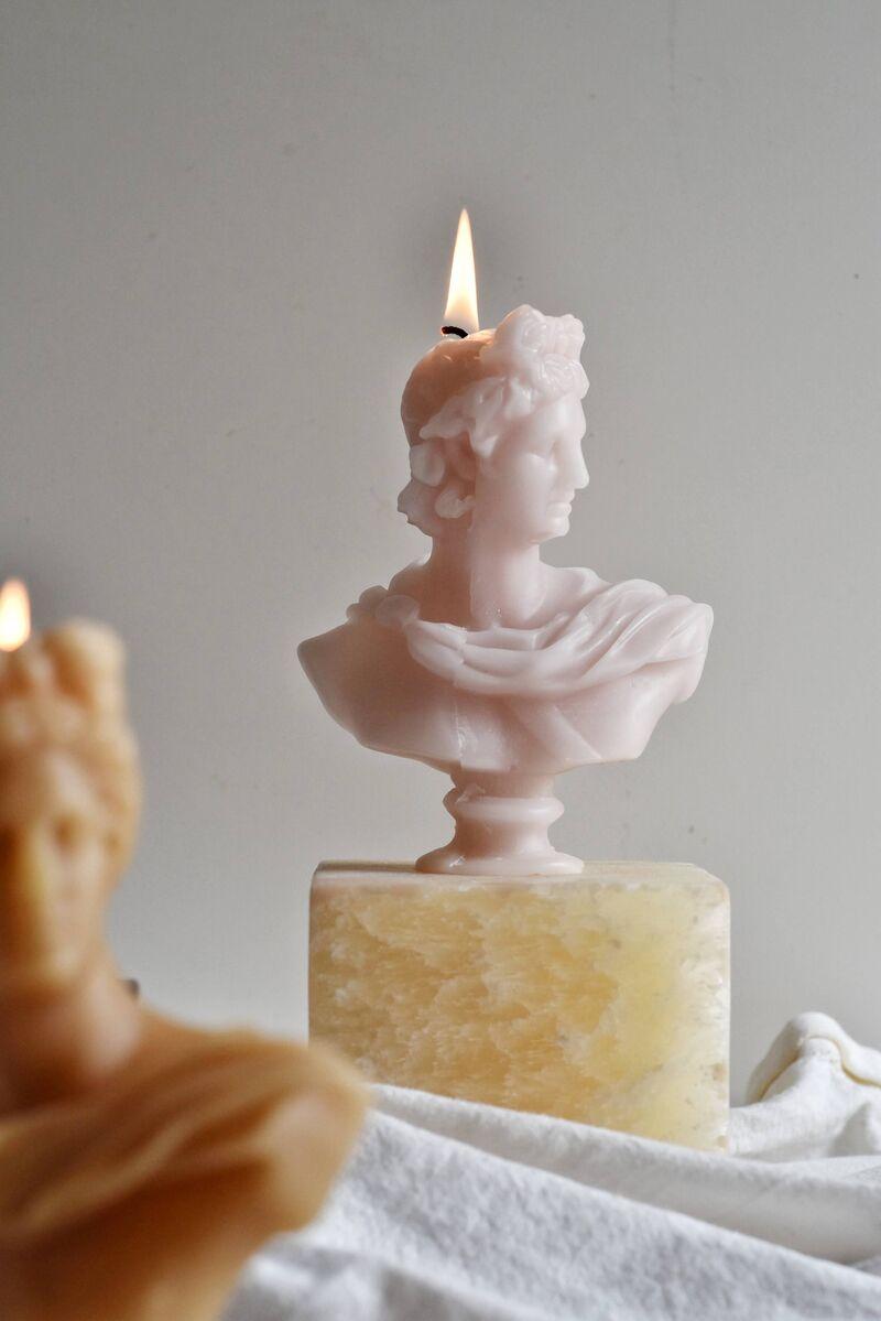 Elegant Grecian Candles
