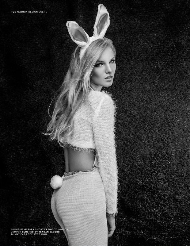 Sultry Easter Bunny Fashion