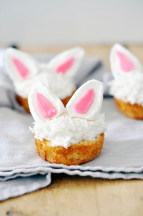 Long-Eared Cupcakes