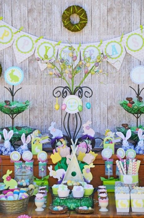 Easter Dessert Buffets
