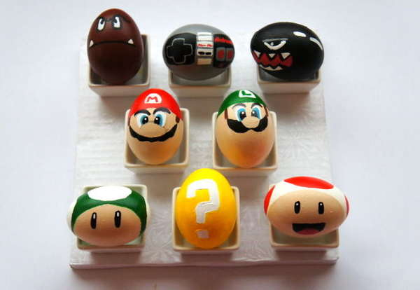 DIY Video Game Eggs