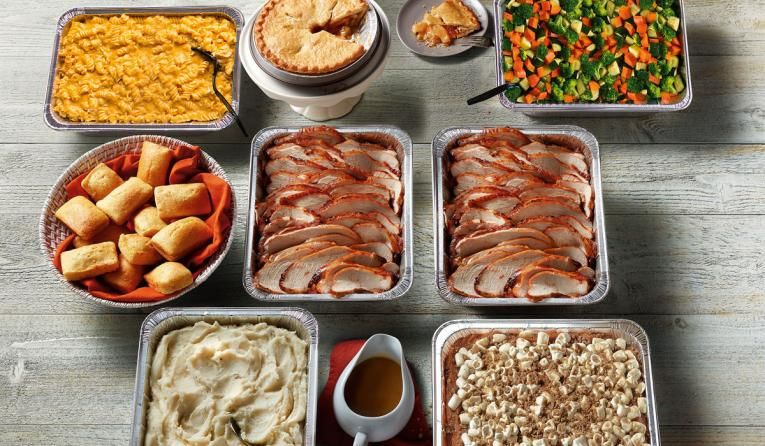 Take-Home Easter Dinners