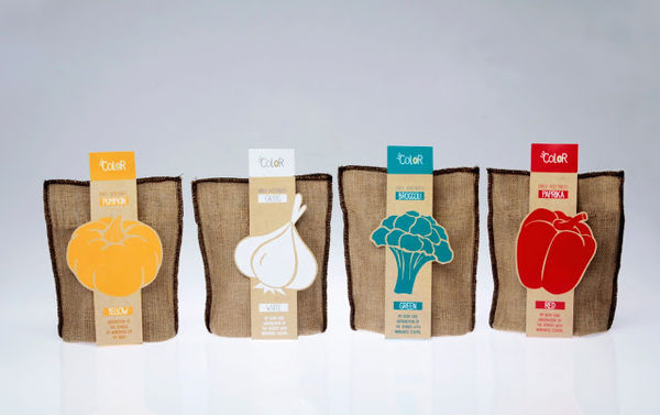 Color-Focused Snack Packaging