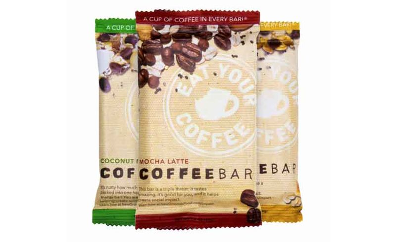 Coffee-Infused Energy Bars