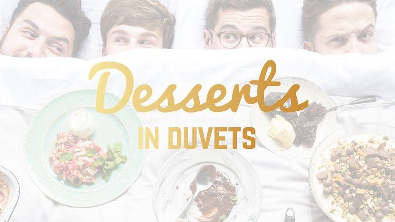 In-Bed Dessert Cookbooks