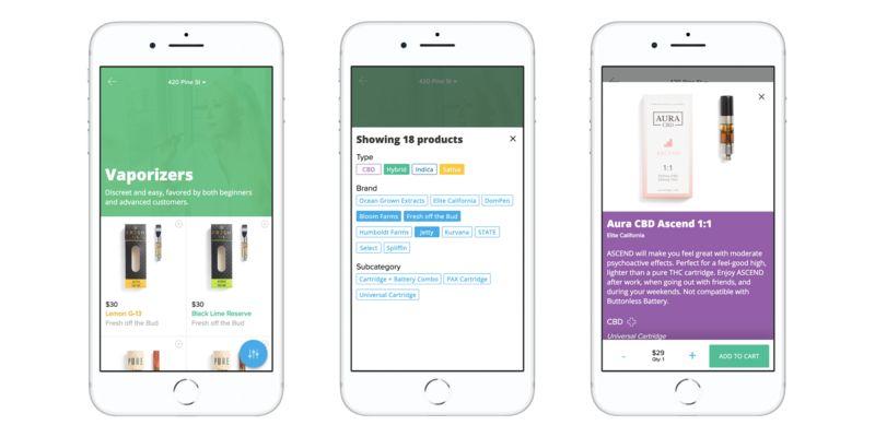 Marijuana-Ordering Apps