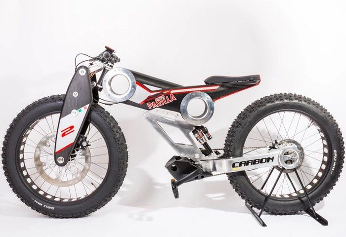 Futuristic SUV Electric Motorcycles