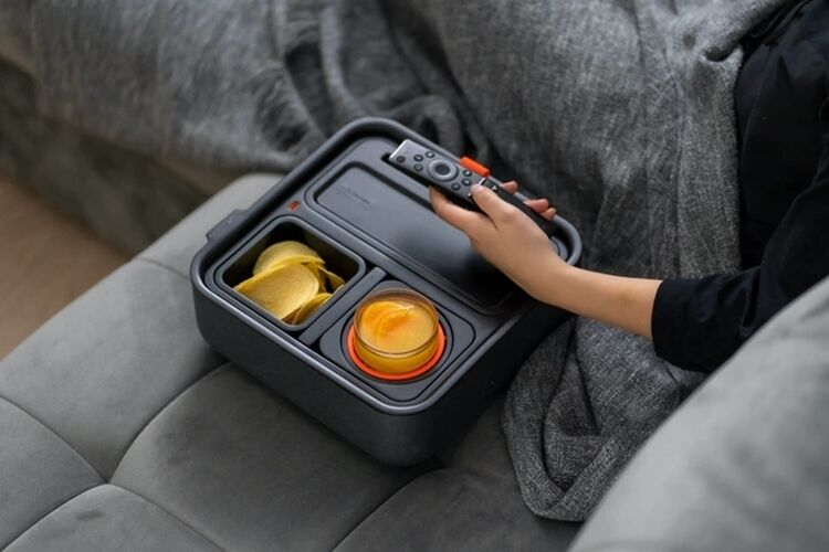 Device-Charging Couch Organizers