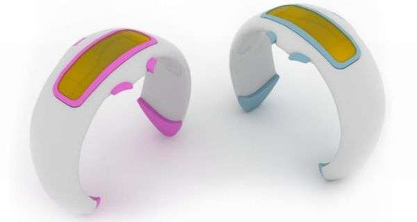 Form-Fitting Music Bracelets