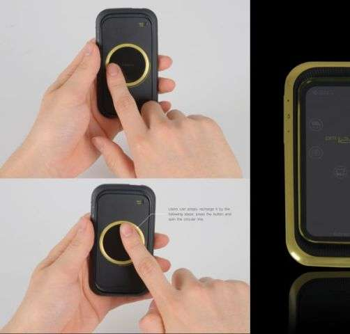 Scroll Wheel Smartphones