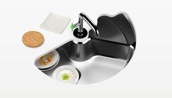 Sink-Dishwasher Hybrids