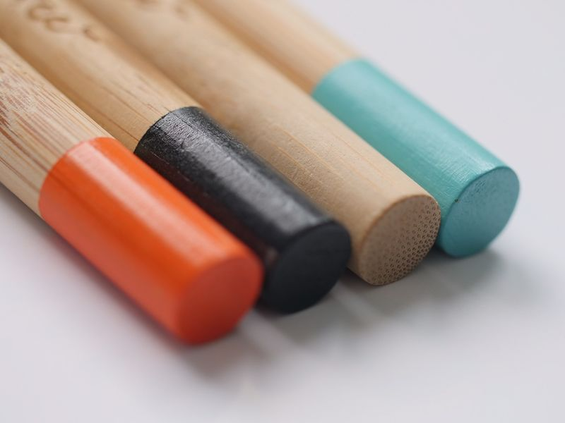 Stylish Bamboo Toothbrushes