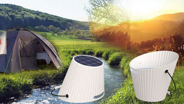 Solar Energy-Powered Buckets