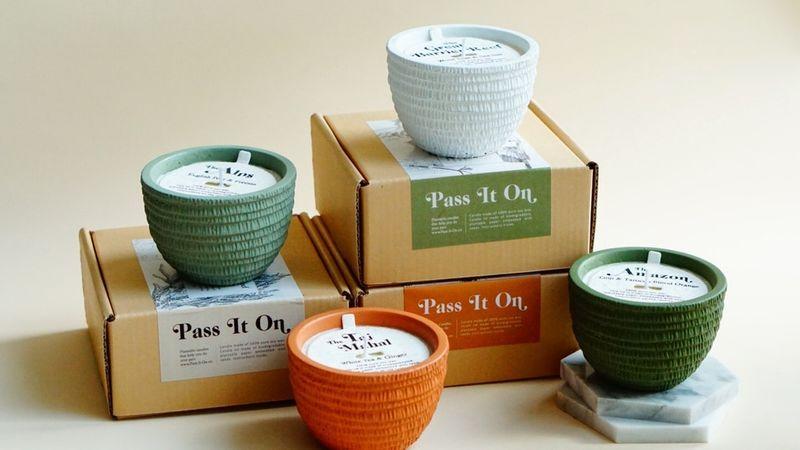 Plastic-Free Plantable Candles
