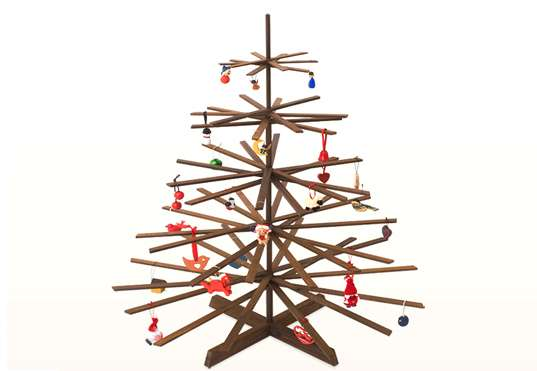 Stick Figure Xmas Trees - Stick Figure Xmas Trees: The PossibiliTree Is A Natural Eco-Friendly