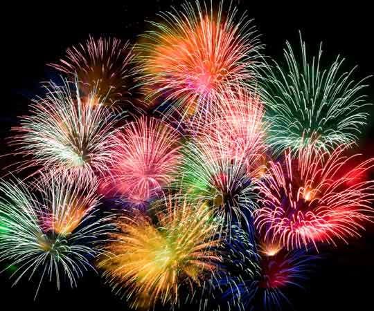 Gentle Pyrotechnics : eco-friendly fireworks