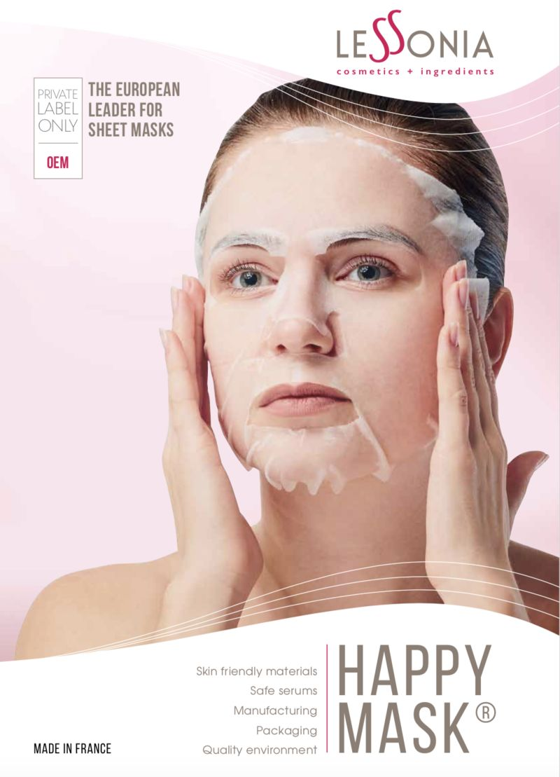 Low-Impact Sheet Masks - Lessonia's Eco-Friendly Sheet Mask Boasts a Reduced Ecological Footprint (TrendHunter.com)