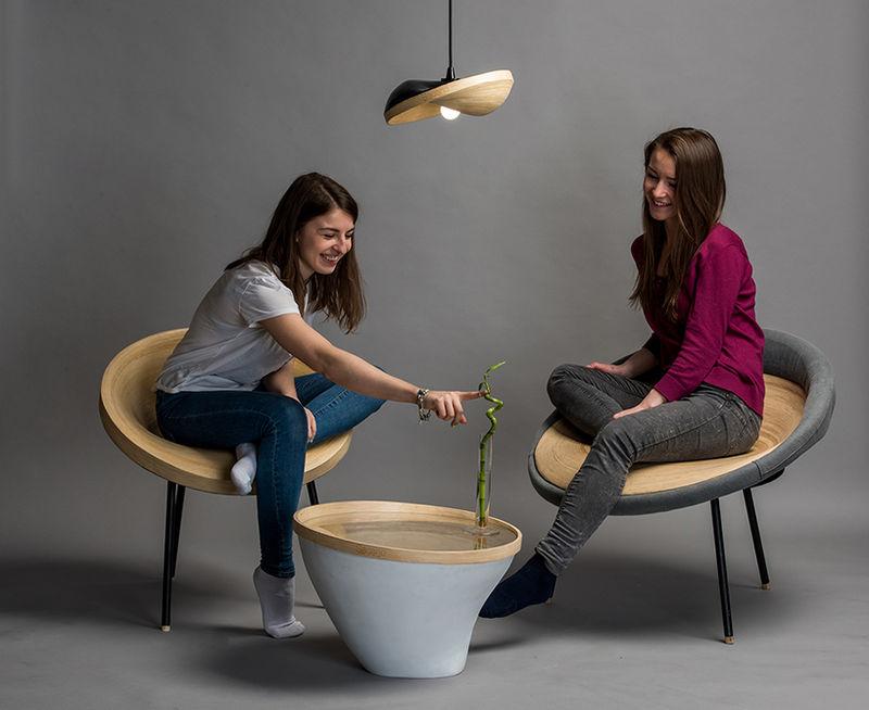 Warped Bamboo Furniture