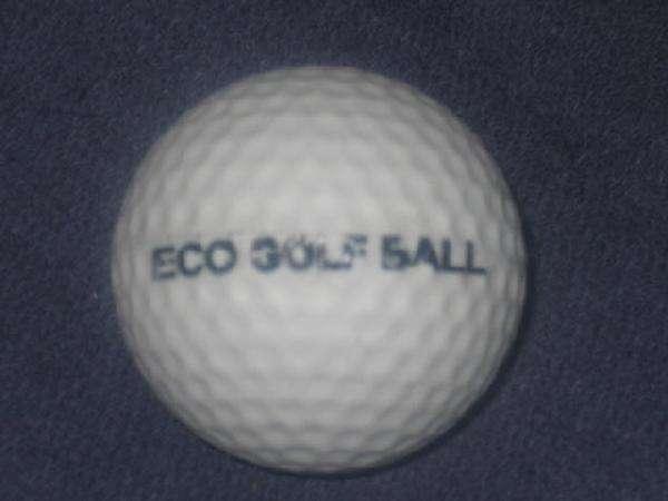 Dissolving Golf Balls
